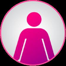 silueta femenina